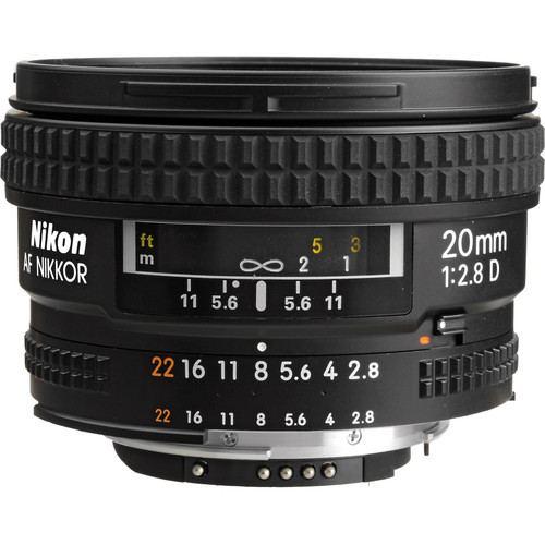 Nikon AF NIKKOR 20mm f2.8D Lens 4