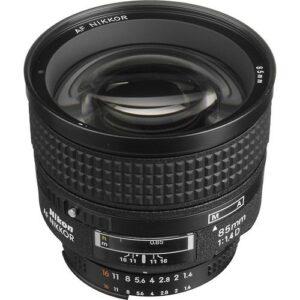 Nikon AF NIKKOR 85mm f1.4D IF Lens 2