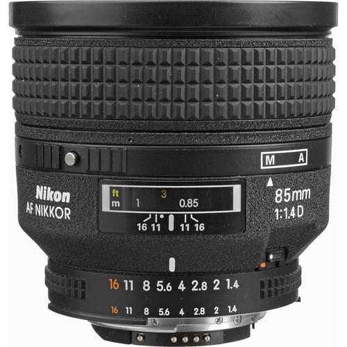 Nikon AF NIKKOR 85mm f1.4D IF Lens 4