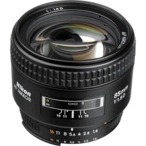 Nikon AF Nikkor 85mm f1.8D Lens 1
