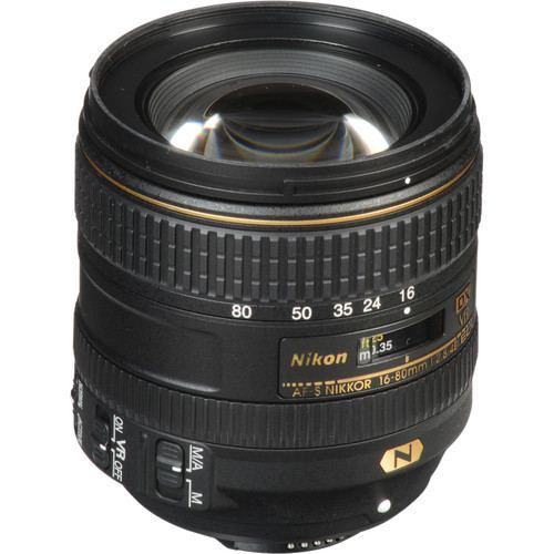 Nikon AF S DX NIKKOR 16 80mm f2.8 4E ED VR Lens 4