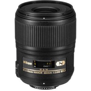 Nikon AF S Micro NIKKOR 60mm f2.8G ED Lens 1