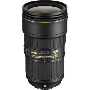 Nikon AF S NIKKOR 24 70mm f2.8E ED VR Lens 1