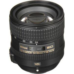 Nikon AF S NIKKOR 24 85mm f3.5 4.5G ED VR Lens 2