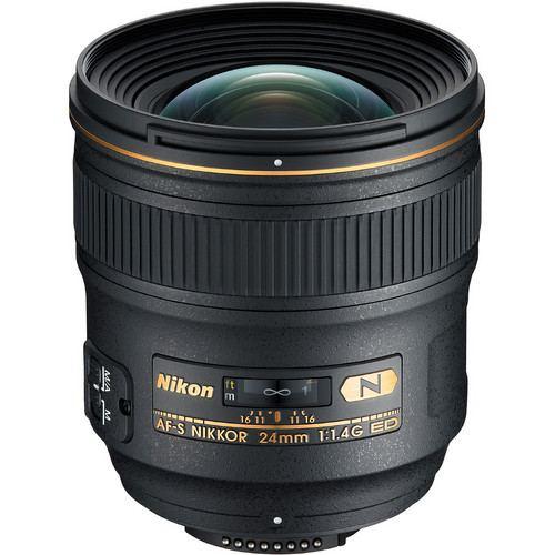 Nikon AF S NIKKOR 24mm f1.4G ED Lens 1