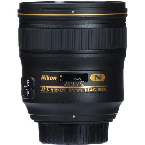 Nikon AF S NIKKOR 24mm f1.4G ED Lens 3