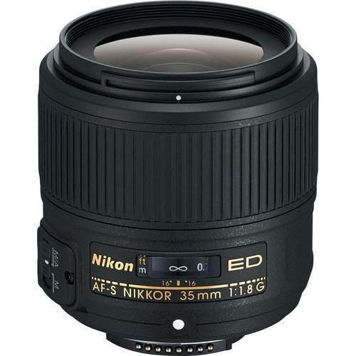Nikon AF S NIKKOR 35mm f1.8G ED Lens 1
