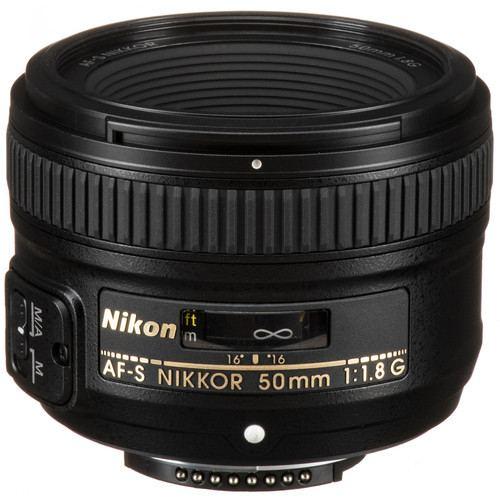 Nikon AF S NIKKOR 50mm f1.8G Lens 6