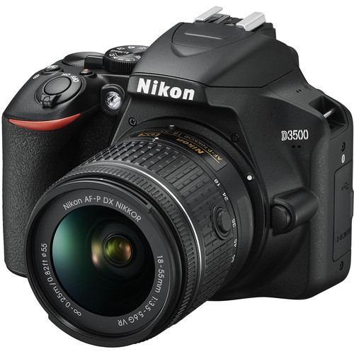 Nikon D3500 DSLR Camera with 18 55mm Lens 4
