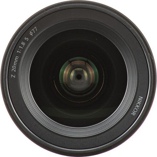 Nikon NIKKOR Z 20mm f1.8 S Lens 2