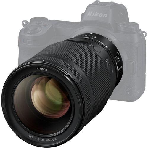 Nikon NIKKOR Z 50mm f1.2 S Lens 4