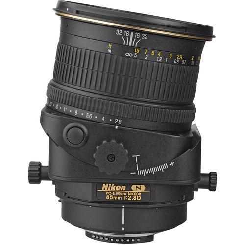 Nikon PC E Micro NIKKOR 85mm f2.8D Tilt Shift Lens 6