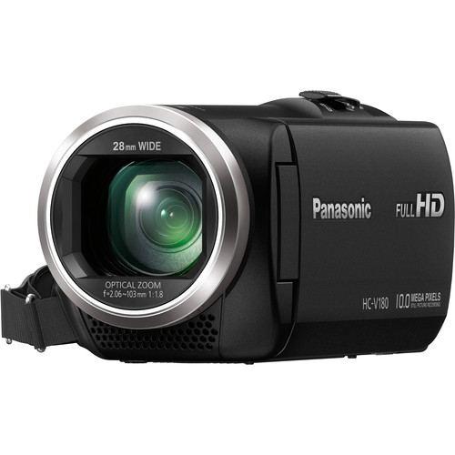 Panasonic HC V180K Full HD Camcorder Black 5