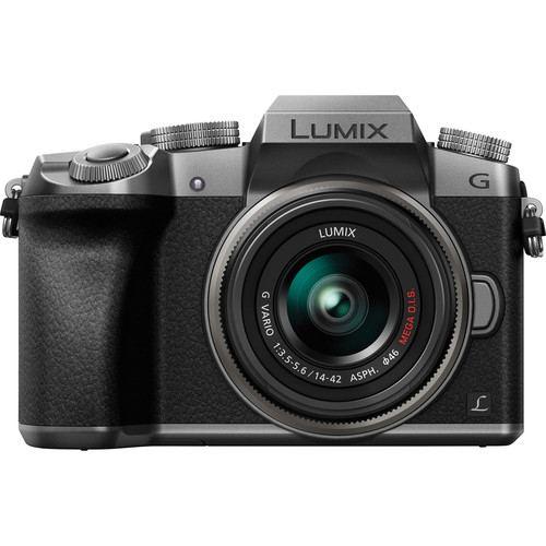 Panasonic Lumix DMC G7 Mirrorless Silver 2