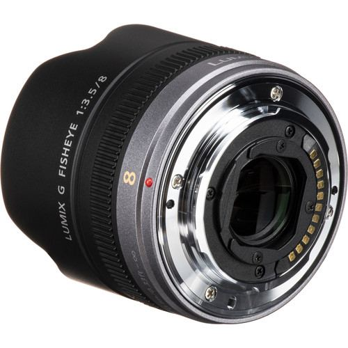 Panasonic Lumix G Fisheye 8mm f35 Lens 6