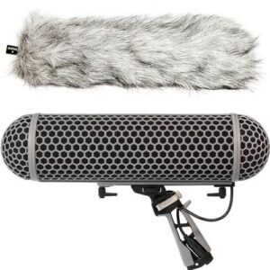 Rode Blimp Windshield and Rycote Shock Mount Suspension 3