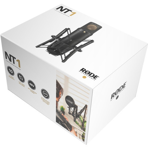 Rode NT 1 KIT 122 Cardioid Condenser Microphone 4