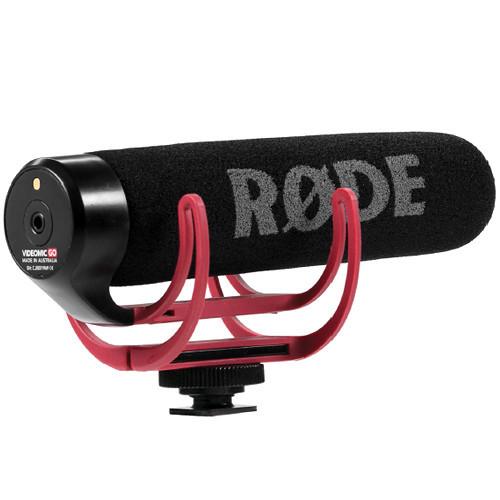 Rode VideoMic GO Camera Mount Shotgun Microphone 5