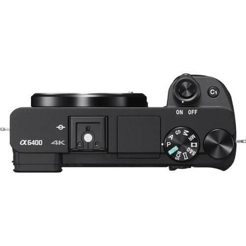 Sony Alpha a6400 Mirrorless Digital Camera 2