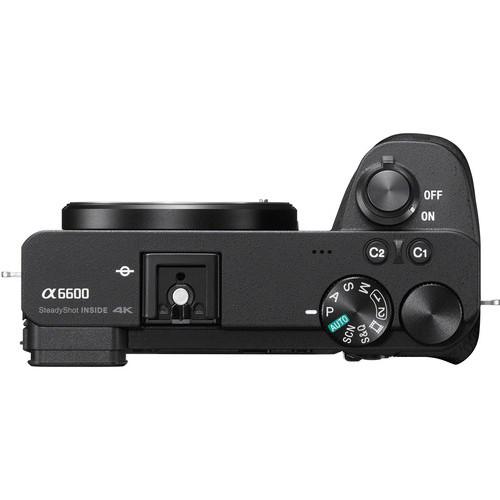 Sony Alpha a6600 Mirrorless Digital Camera 2