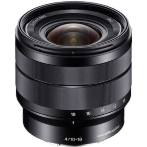 Sony E 10 18mm f4 OSS Lens 1