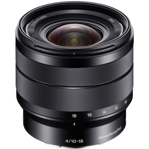Sony E 10 18mm f4 OSS Lens 1