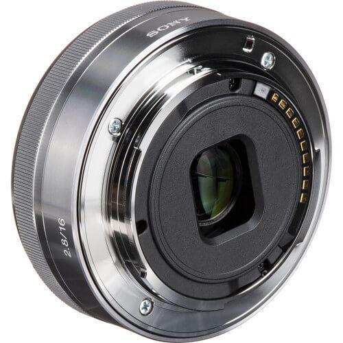 Sony E 16mm f2.8 Lens Silver 3