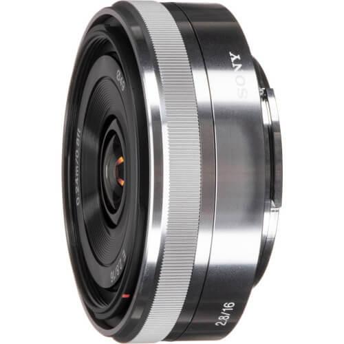 Sony E 16mm f2.8 Lens Silver 4