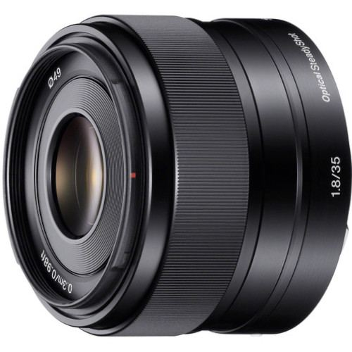 Sony E 35mm f1.8 OSS Lens 1