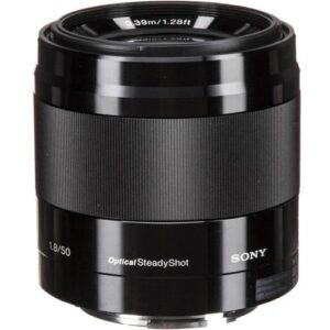 Sony E 50mm f1.8 OSS Lens Black 2