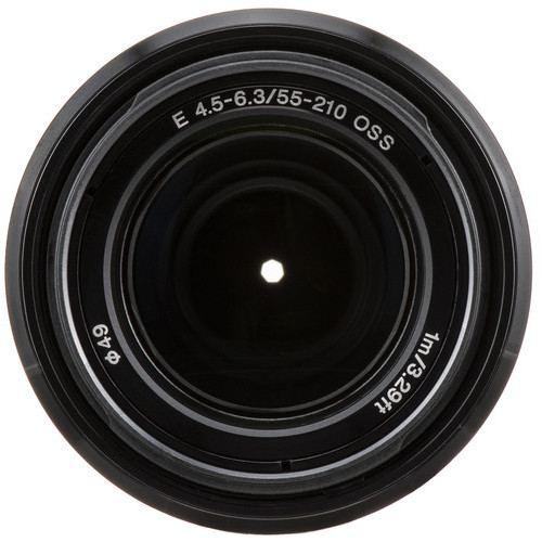 Sony E 55 210mm f4.5 6.3 OSS Lens Black 3