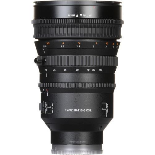Sony E PZ 18 110mm f4 G OSS Lens 3