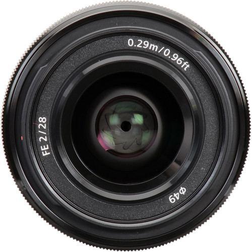 Sony FE 28mm f2 Lens 4