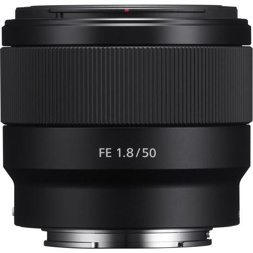 Sony FE 50mm f1.8 Lens 3