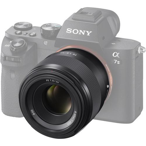 Sony FE 50mm f1.8 Lens 4