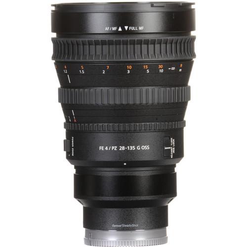 Sony FE PZ 28 135mm f4 G OSS Lens 5