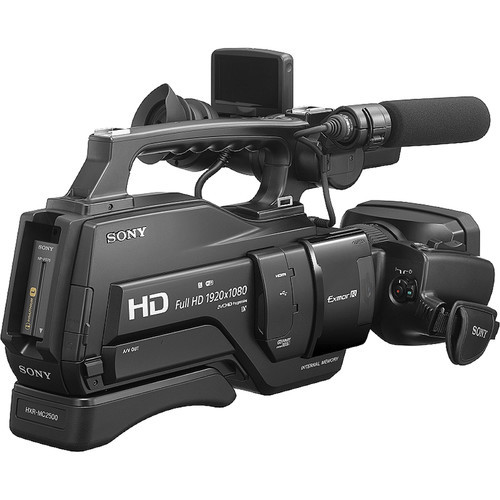 Sony HXR MC2500 Shoulder Mount AVCHD Camcorder 2