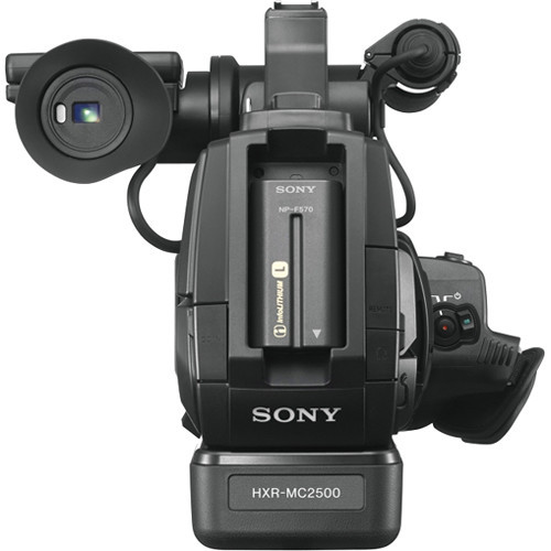 Sony HXR MC2500 Shoulder Mount AVCHD Camcorder 5