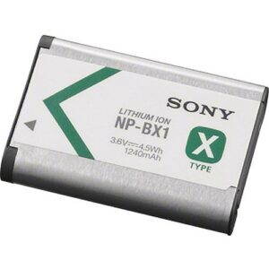 Sony NP BX1 Rechargeable Lithium Ion Battery Pack 1
