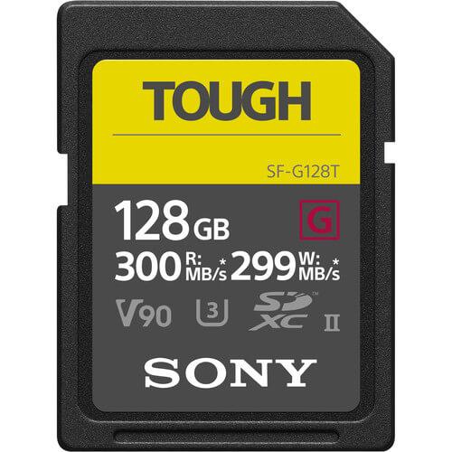 Sony SF G Tough 300Mbps Memori 128 GB 1