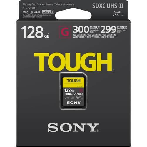 Sony SF G Tough 300Mbps Memori 128 GB 2