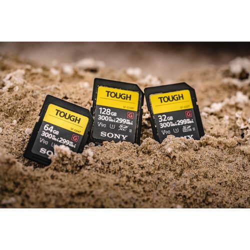 Sony SF G Tough 300Mbps Memori 64GB 4