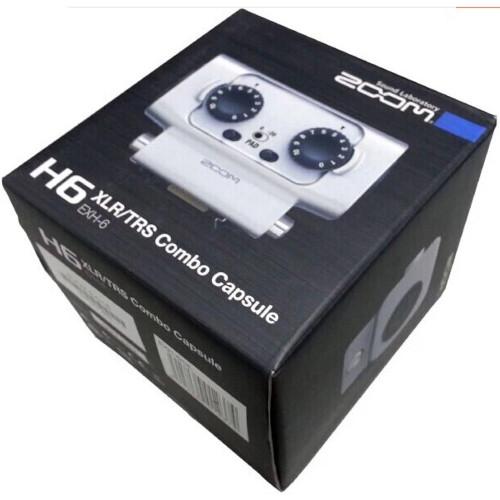 Zoom EXH 6 Dual XLR TRS Combo Input Capsule 4