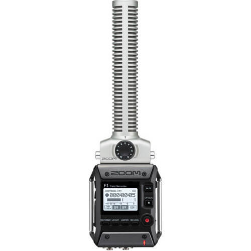 Zoom F1 sp Portable Field Recorder With Lavalier Microphone 1
