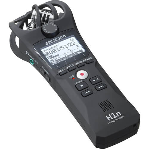 Zoom H1n Portable Handy Recorder unit Only 4