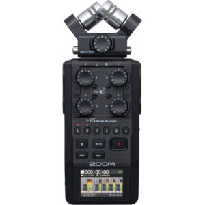 Zoom H6 Portable Handy Recorder 1