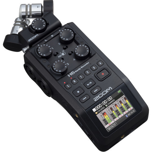 Zoom H6 Portable Handy Recorder 2
