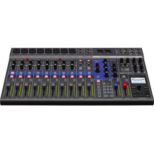 Zoom LiveTrak L 12 Portable Digital Mixer Multitrack Recorder 5