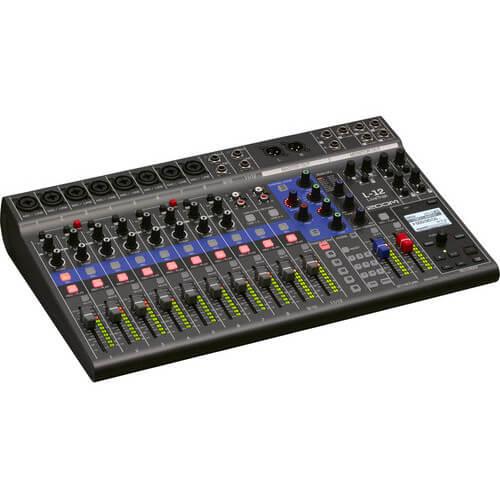 Zoom LiveTrak L 12 Portable Digital Mixer Multitrack Recorder 6