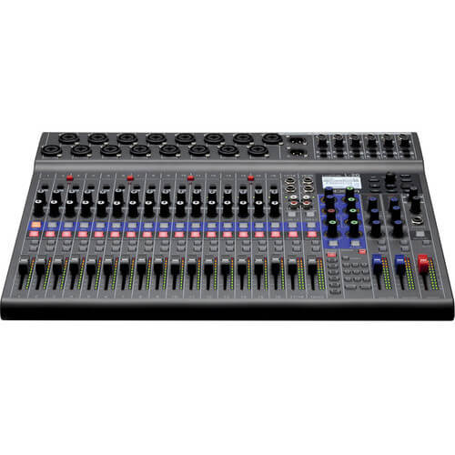 Zoom LiveTrak L 20 Digital Mixer Multitrack Recorder 2